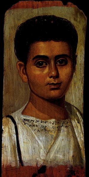 [Clio Team] 193-211 l\'Affranchi Eutych_s, affranchi de Kasianos Fayoum\'s Portrait