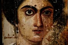 [Clio Team] 138-161 Femme dite Zenobia, Woman known as Zenobia D_trempe sur panneau Fayoum\'s Portrait